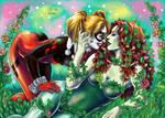 Poison Ivy x Harley Quinn