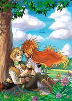 Luke x Guy by Autumn-Sacura
