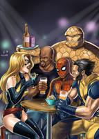 New Avengers by Autumn-Sacura