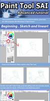 SAI - Painting tutorial