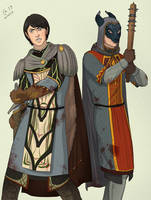 Adleoth and Anduinel by Autumn-Sacura