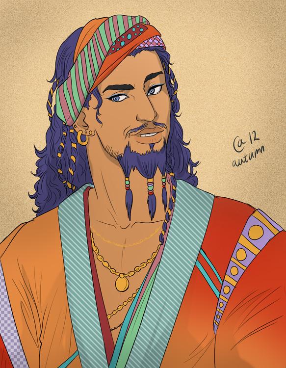 [Season 3] Character comparisons: From Books to Screen ... Daario Naharis Fan Art