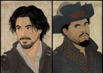Porthos and Aramis