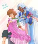 Allura and Pidge