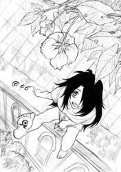 Wrath on the roof by Autumn-Sacura