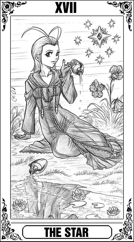 KH Tarot: The Star by Autumn-Sacura