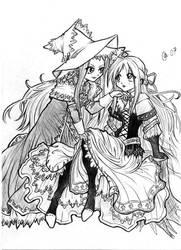 Yggdra union - shoujo ai by Autumn-Sacura