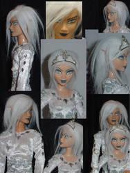 snow elves details by DivinityNemesis