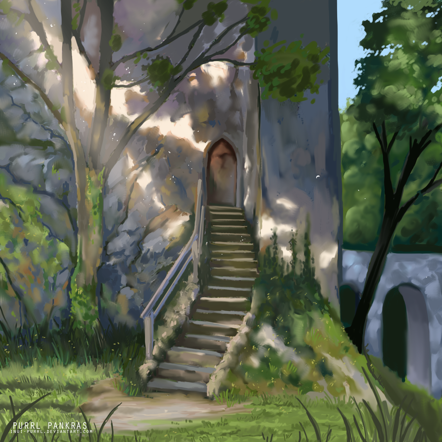 Summer - Lighting study by Inui-Purrl