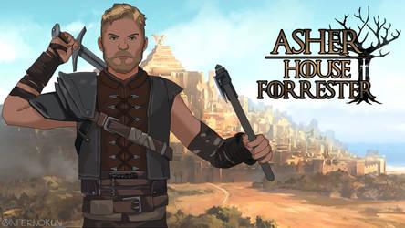 Asher Forrester - Telltale's Game of Thrones