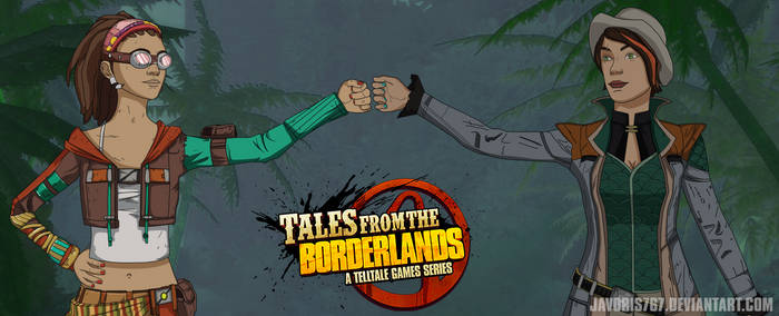 Fiona and Sasha - Tales From The Borderlands