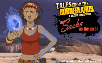Sasha as the Siren - Tales From The Borderlands