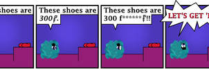 Comic 11: Shoes.