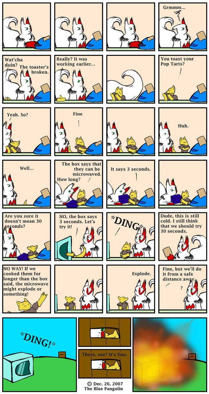 Comic 22 -LONG- : Pop Tart by The-Blue-Pangolin