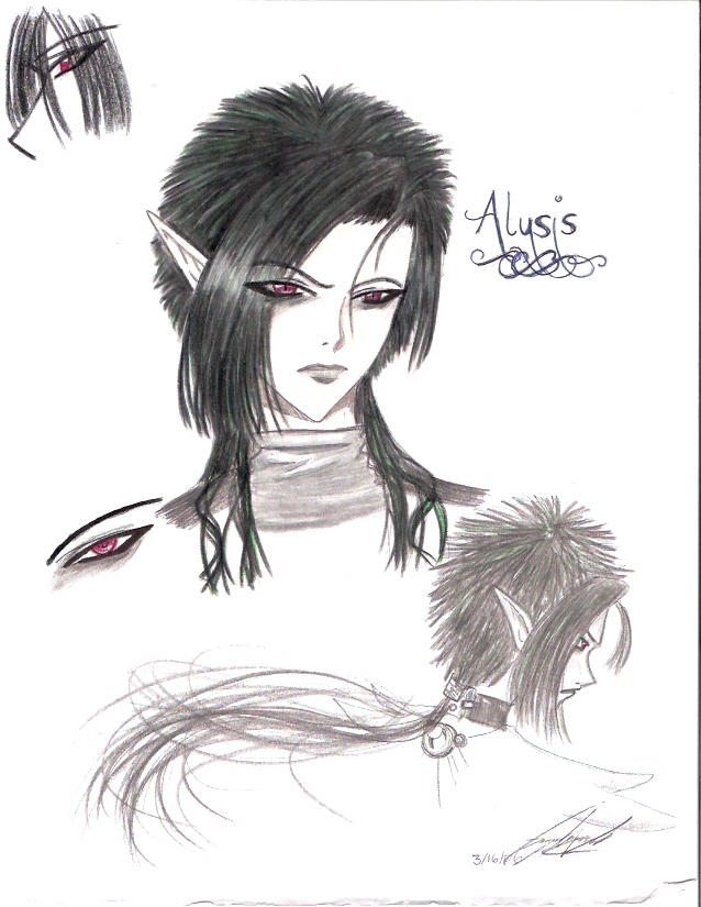 Alusis new style colored by Alusis