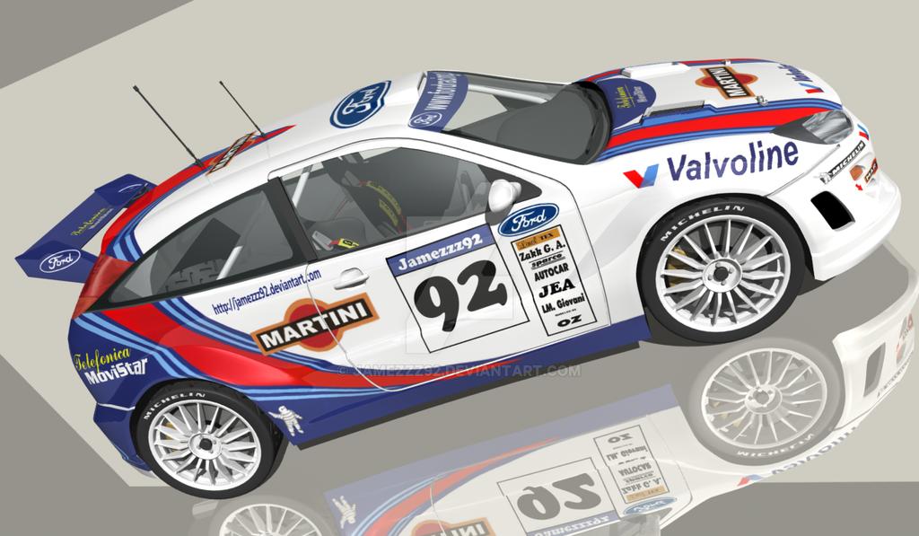 Ford Focus rally car WRC by Jamezzz92 on DeviantArt