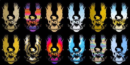 New UNSC logo variants.