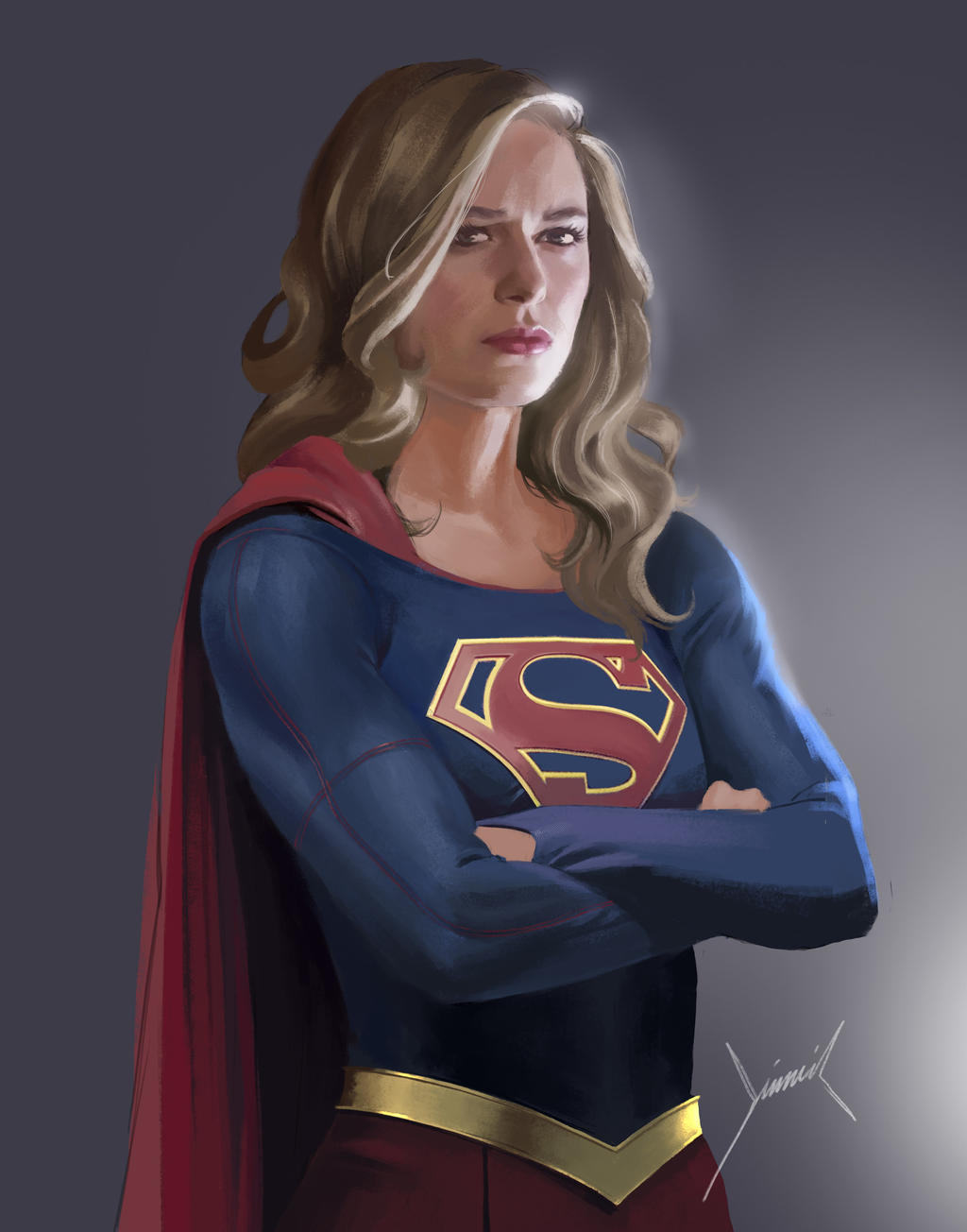 Supergirl by PapurrCat