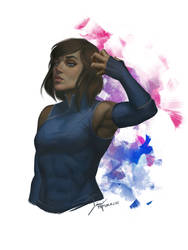 Korra, The Legend