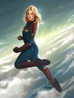 Carol Danvers by PapurrCat