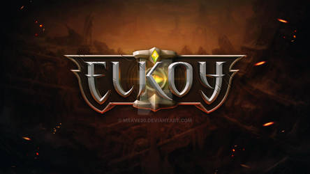 MMO RPG Game Logo
