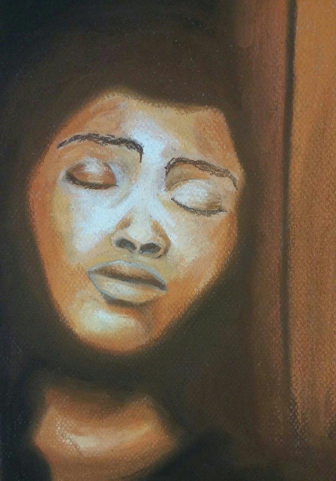 Pastel Portrait by wickedtiger86