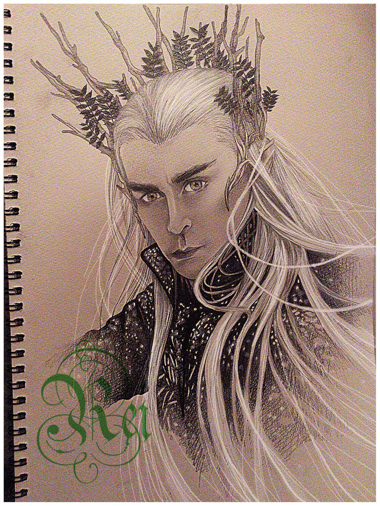 Thranduil by Sixth-Rei