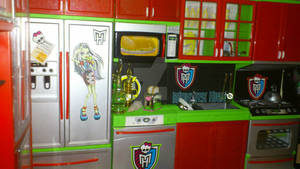 Monster High custom kitchen