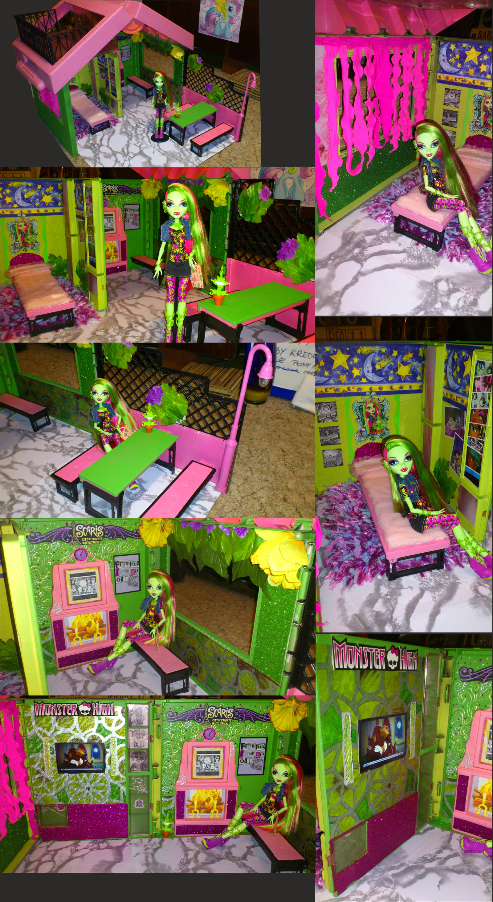 Venus McFlytraps house custom SOLD by angelpercent on DeviantArt