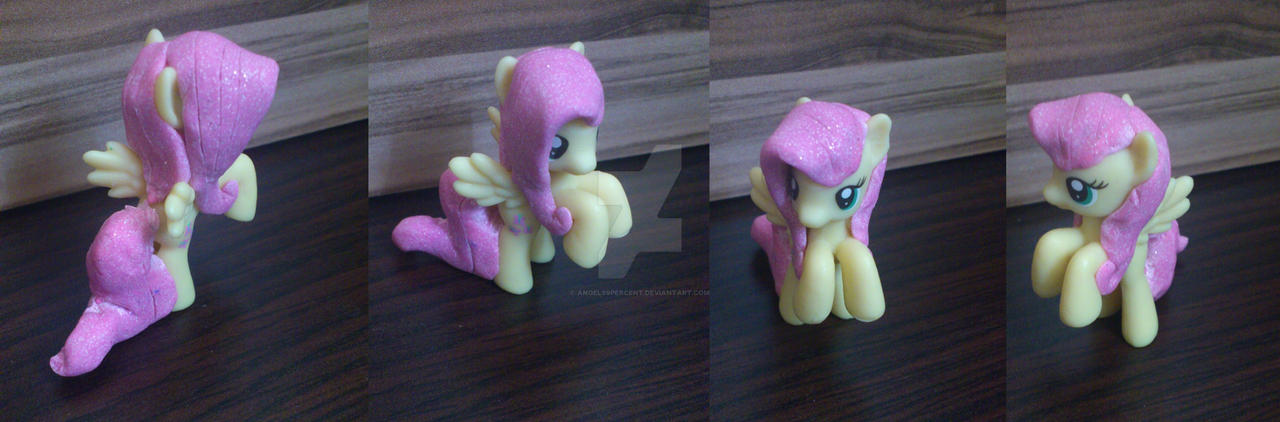 Fluttershy show accurate mane and tail custom by angel99percent
