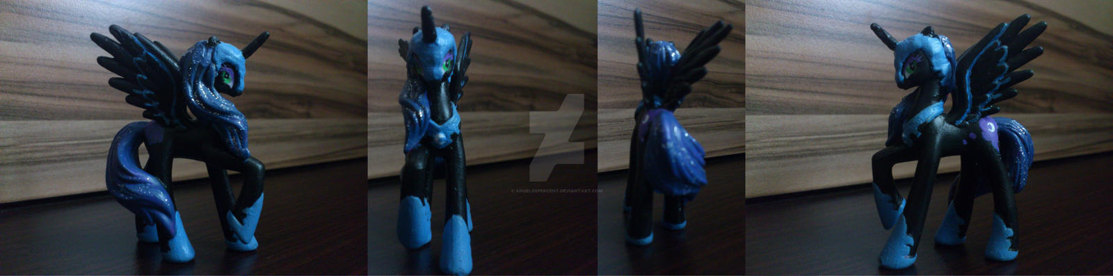 Nightmare Moon blind bag custom by angel99percent