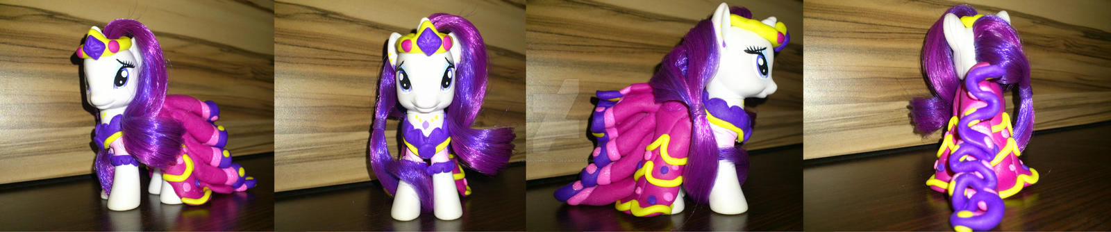 Rarity Gala Dress custom by angel99percent
