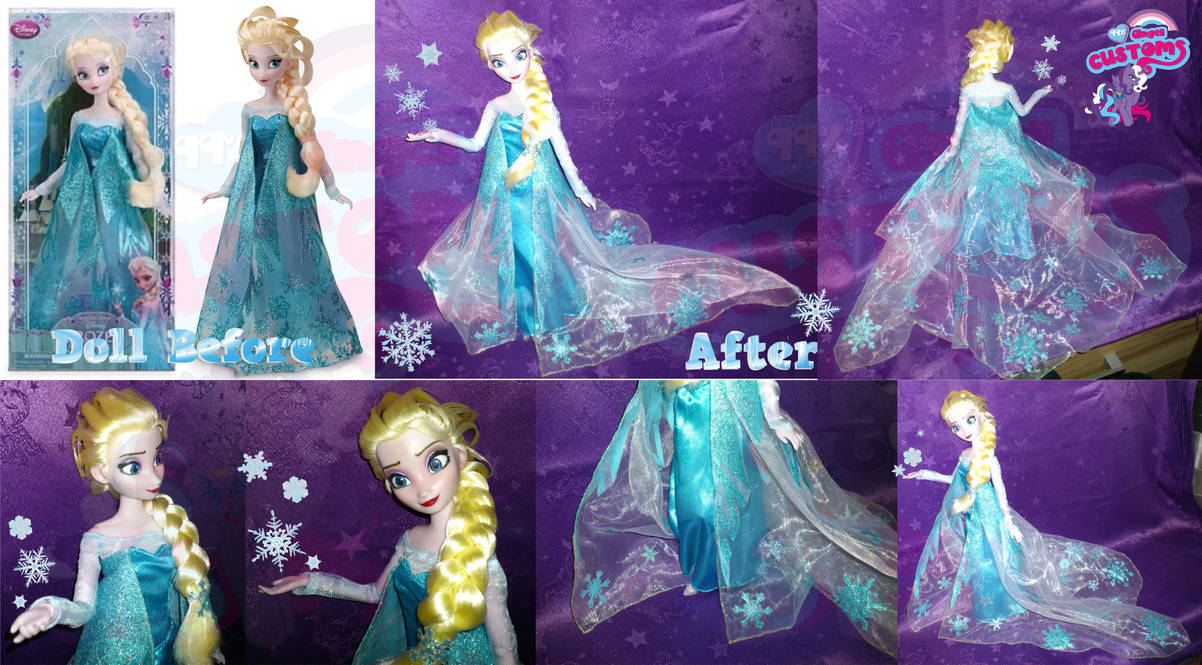 Elsa form Frozen v2 custom by angel99percent