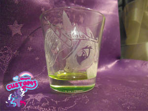 Princess Celestia glass engrave by angel99percent