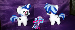 Chibi Vinyl Scratch plush by angel99percent