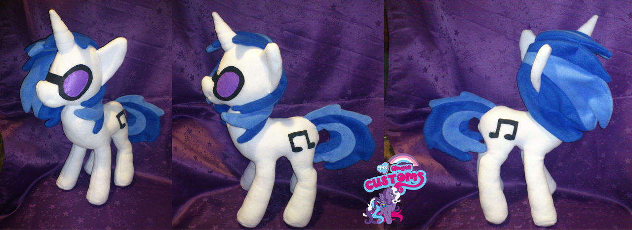 Vinyl Scratch 19,7'' plush by angel99percent