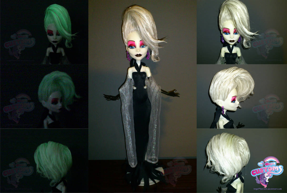 Monatella Ghostier v2 glow in the dark by angel99percent