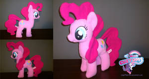 Pinkie Pie plushie by angel99percent