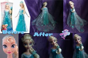 Frozen Elsa hand painted