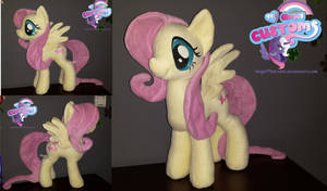 Fluttershy plush by angel99percent