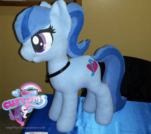 Sonata Dusk plushie by angel99percent