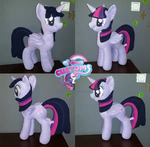 Princess Twilight Sparkle plushie by angel99percent
