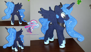 Princess Luna 12inch plushie by angel99percent