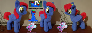 Fleeting Dream OC plush by angel99percent