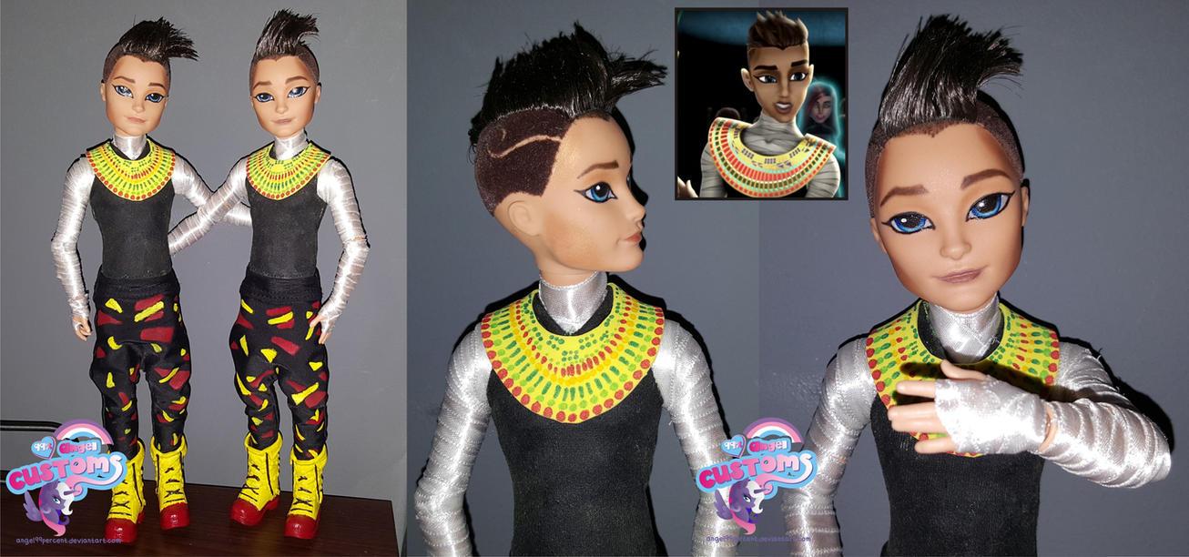 Monster High Pharaoh custom doll by angel99percent