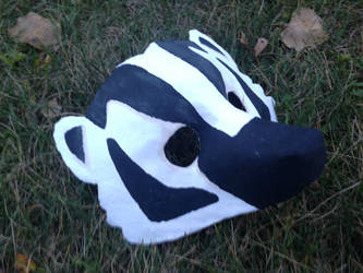 American Badger Mask [Collab] by Silver-Sundog