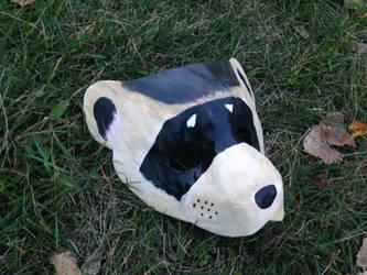 Black-Footed Ferret Mask [Collab] by Silver-Sundog