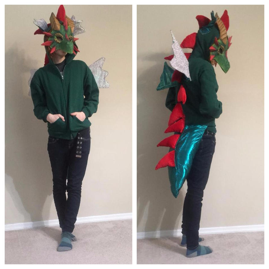 Dragon Costume: 17-year Collaboration! by Silver-Sundog