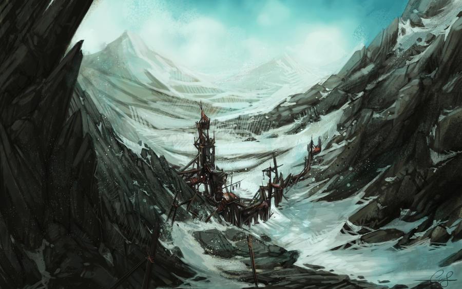Abandoned Gate by SnakeToast