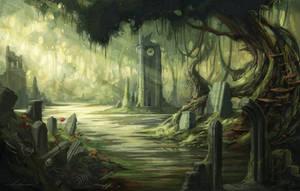 Swamp Ruins by CarolineLaplante